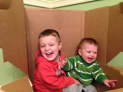all smiles in brother box