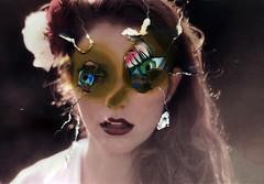 (Rosanna Jones,) Tags: portrait collage eyes burn perfection imperfection destroy rosannajones