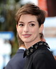 Anne Hathaway Hugh Jackman is honoured with a Hollywood Star on the Hollywood Walk of Fame Los Angeles, California