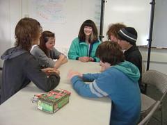 A card game (Tan Tachyon) Tags: gabriel games josh cameron auden 2012 ayden prema afe alternativefamilyeducation afegamesgroup
