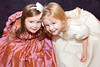 Flowergirls Sadhbh and Taylor Spellman pictured at An Evening of Timeless Elegance at Hotel Meyrick. Photo Martina Regan