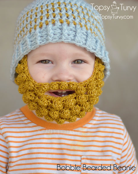 Ravelry Bobble Bearded Beanie Pattern By Ashlee Prisbrey
