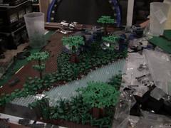 Yavin IV WIP Pictures (LMM98) Tags: river star lego battle wars clone epic base droid moc yavin4wip4