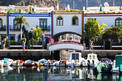 Puerto de Mogan (john a d willis) Tags: grancanaria marina harbour holidayhomes puertodemogan fishermmanscottages