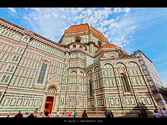 Santa Maria del Fiore - Florence ( Janine ) Tags: italien italy canon florence cathedral kathedrale tuscany firenze janine 2012 florenz toskana santamariadelfiore eos450d janinephotography