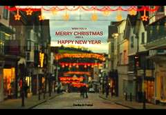 Merry Christmas (pRaTuL rAgHaV) Tags: christmas street sunset out lens prime lights high nikon focus guildford dx nikond90 nikkor50mmf14gafs