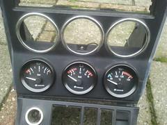 mod convertible bmw meter dashboard cabrio z3 gauges roadster centerconsole oilpressure oliedruk oiltemperature middenconsole olietemperatuur
