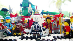 Week 52 (chrisofpie) Tags: chris project scott pie toy toys outdoors funny dragon lego jester lol doug liam legos hero knight week brave heroes minifig roger weeks mime 52 minifigure minifigures 52weeks kazham stunningphotography legohero whitejester chrisofpie rogeranddoug 365legos dougthechimp 52weeksofliamthemime scottthedragon