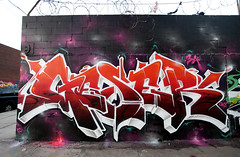Last of 2012... Geser x Brooklyn (GESER 3A) Tags: camera nyc urban newyork art wall brooklyn print suck graffiti weed hipsters flickr can spray 3a explore crew capture rath kem iphone ges molotow berst kems enue geser