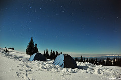 New Year's Eve (.:: Maya ::.) Tags: new camping sky mountain snow night year tent bulgaria rila             mayaeye mayakarkalicheva
