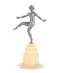 "An Art Deco Figure with Glass Base • <a style=""font-size:0.8em;"" href=""http://www.flickr.com/photos/92426936@N05/8338520010/"" target=""_blank"">View on Flickr</a>"