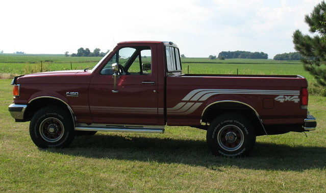 ford 4x4 f150 1990 fourwheeldrive fordv8 shortbed 50liter