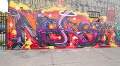 Nekst (TheHarshTruthOfTheCameraEye) Tags: 30 graffiti la losangeles los angeles rip dirty kings tribute msk mad dts dame society pcf d30 mayhem irak nekst madsocietykings dirty30 a2m losangelesgraffiti