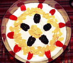 English Christmas Trifle with panettone (SeppySills) Tags: holiday fruit bread dessert italian cream delicious custard recipes englishfood