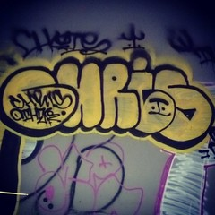 CHRIS (L0W.LYF3) Tags: sf chris graffiti bay other san francisco ups area cs graff amc bombs throw chris1 oth cs1 amck