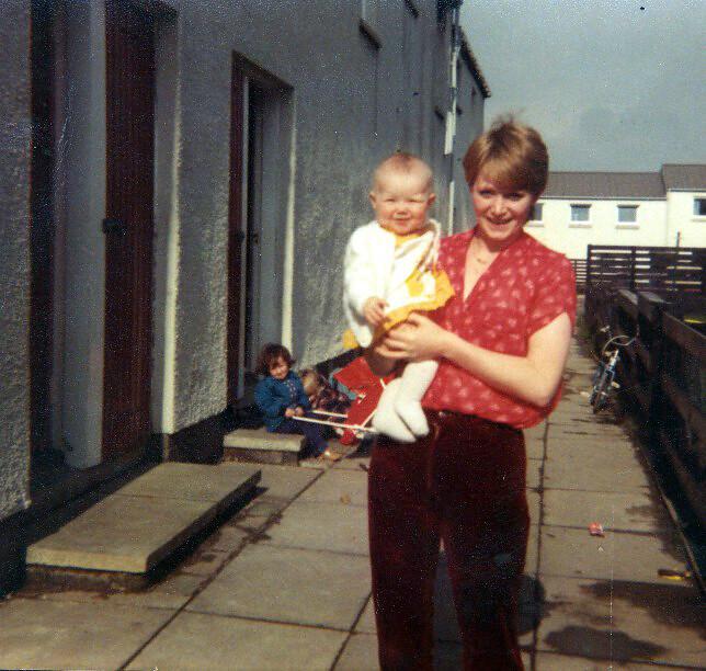 Helen Beattie Cumbernauld 1980s