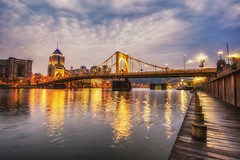 Early morning on the North Shore of Pittsburgh HDR (Dave DiCello) Tags: beautiful skyline photoshop nikon pittsburgh tripod usxtower christmastree mtwashington northshore northside bluehour nikkor hdr highdynamicrange pncpark thepoint pittsburghpirates cs4 d600 ftpittbridge steelcity photomatix beautifulcities yinzer cityofbridges tonemapped theburgh clementebridge smithfieldstbridge pittsburgher colorefex cs5 ussteelbuilding beautifulskyline d700 thecityofbridges pittsburghphotography davedicello pittsburghcityofbridges steelscapes beautifulcitiesatnight hdrexposed picturesofpittsburgh cityofbridgesphotography