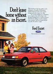 1989 Ford Escort 2-Door Hatchback