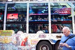 Acid Trip Tourist Bus   Times Square, New York City (OQ62) Tags: nyc newyorkcity travel bus tourism print acid streetphotography tourist midtown timessquare gothamist acidtrip canoneos5dmarkii
