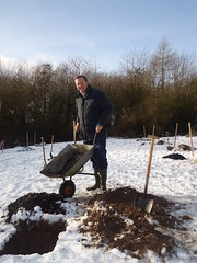 "Stephen Mosley MP helping plant Caldy Valley Community Orchard with local Scouts and Cadets • <a style=""font-size:0.8em;"" href=""http://www.flickr.com/photos/51035458@N07/8421700380/"" target=""_blank"">View on Flickr</a>"