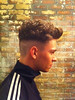 Joey Essex posted this image of his new hair cut on Twitter with the caption '#Fusey'
