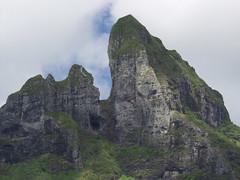 Peak of Mt. Otemanu, Bora Bora Island (prelude2000) Tags: island polynesia mt tropical tahiti socit borabora polynsie otemanu
