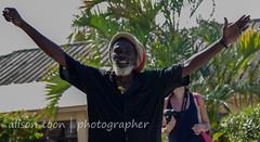 Jamaica-MoBay-Downtown-6346 (alison.toon) Tags: city copyright man hat happy town downtown photographer tour jamaica guide rasta montegobay rastaman alisontoon