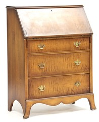 34. Maple Fall Front Secretary Desk