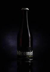 Hidromiel (Edwin M. Glez) Tags: bier beer bottle flasche glas glass cristal botella cerveza publicitaria producto advertising werbung studio canon 600d 50mm