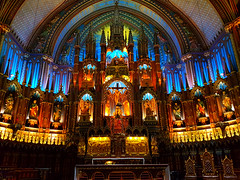 Notre-Dame Basilica (Montreal) (dave_7) Tags: notredame basilica montreal