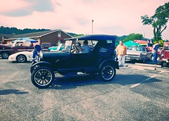 ~ Taking Center Of Attention  .... (~ Cindy~) Tags: vbscarshow kickoff tennessee harriman church baptist riverside 72016