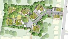 Davis Landscape Architecture - Tyson Road - Landscape Masterplan (London Landscape Architects) Tags: landscape architecture architect visualisation design render masterplan