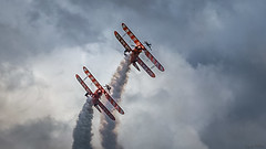 Wingwalkers N1 (Daniel.Peter) Tags: breitling breitlingwingwalkers doppeldecker flugshow flugtagewittingsburg2016 flugzeug wingwalker wingwalkers wittinsburg aircraft airplane aviation biplane dpe3x flightshow wingwalk