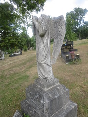 Praying for a new head (John Steedman) Tags: monument cemetery camberwell london uk unitedkingdom england   greatbritain grandebretagne grossbritannien       tombstone gravestone churchyard friedhof grave cgth graveyard cementerio cimetire tomb