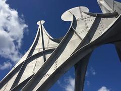 Alexandre Calder, L'Homme, 1967 (art_inthecity) Tags: alexandrecalder lhomme expo67 lestehlne parcjeandrapeau sculpture outdoorsculpture outdoor art outdoorart metalsculpture montreal canada montrealart artpublic publicart