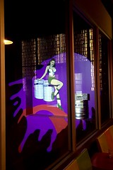 (233/366) Lagunitas' Little Sumpin' Sumpin' Woman (CarusoPhoto) Tags: lagunitas brewery little sumpin iphone 6 plus john caruso carusophoto photo day project 365 366 window painted paint art artwork beer chicago city urban