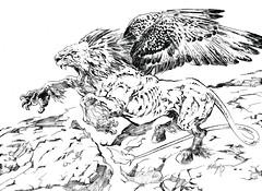 ART-116-chimerax-b&w (whisperstudio) Tags: eddiewilson brokentoys eddiewilsonart eddiewilsonartist eddiewilsonpresents whisperstudio scifiart steampunkart steampunk steampunkconceptart sketches scienceadventures fantasyart fantasyartsketches darkart doclazarus drlazarus doctorlazarus blackandwhiteart comicart conceptart c