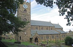 St. Michael and All Angels Church, Haworth, Yorkshire (tosh123) Tags: church yorkshire haworth bronte building architecture worship clock