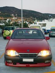 Opel Omega A Irmscher (omegals) Tags: opel omega a irmscher vauxhall carlton port