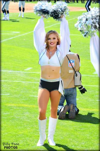 2015 Oakland Raiderette Jamie @ Coliseum