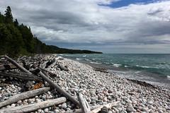 Pebble Beach, Marathon, Ontario (TomIrwinDigital) Tags: beach lake lakesuperior marathon ontario