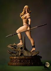 Jungle Girl 1 (Desert Dragon Visual Arts) Tags: frankcho junglegirl statue womenofdynamite