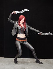 Noxian Assassin (l plater) Tags: katarina noxianassassin leagueoflegends 2016ozcomiccon cosplay