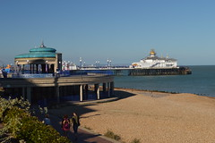 The Bandstand and the Pier (CoasterMadMatt) Tags: eastbourne2016 eastbourne seasidetown seaside town towns englishseaside eastbournepier lionspier pier piers beach beaches bandstand building structure architecture britishseaside southeastengland england britain greatbritain gb unitedkingdom uk august2016 summer2016 august summer 2016 coastermadmattphotography coastermadmatt photos photography photographs nikond3200 sussex englandssouthcoast