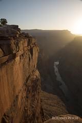 Toroweap Sunrise (Rolandito.) Tags: usa united states america grand canyon sunrise toreweap tuweep steep cliff cliffs