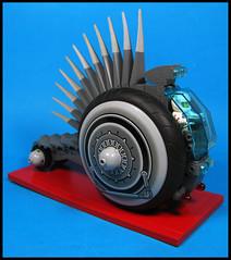 The Razorback (Karf Oohlu) Tags: lego moc minifig razorback rover scfi vehicle bigwheels
