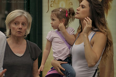 Portrait (Natali Antonovich) Tags: portrait sweetbrussels brussels belgium belgique belgie family together children childhood stare motherhood motheranddaughter
