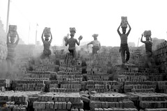 Life Risk Work (jalam@machizo.com) Tags: life brickfield work landscape pepole bangladesh color travel