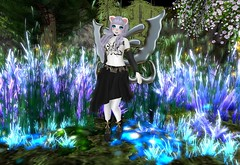Night Fairy (SerenitySemple) Tags: secondlife furry fashion lesencantades jackpotgachafair gacha fairy barerose ayashi cosmeticfair fantasy endlessdreams mokyu maitreya anime animehead kawaii