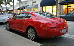 Bentley Continental GT (SPV Automotive) Tags: bentley continental gt coupe exotic sports car red
